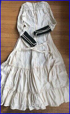 Vintage Gunne Sax By Jessica Dress 70s maxi prairie Cottage Renaissance