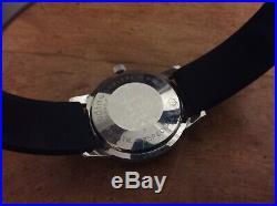 Vintage Mens Zodiac Seawolf Automatic Watch 1960s Vietnam Era, All Original