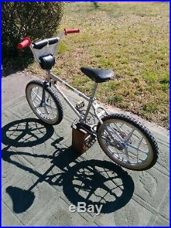 Vintage Mongoose BMX Bicycle Motocross MotoMag 1979 Original Survivor RARE