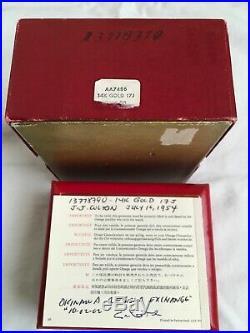Vintage Omega 14k solid gold Automatic Cal. 345 Original Patina Dial