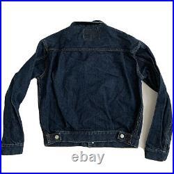 Vintage Original 507xx Deadstock 1950s Levi's Big E Type II Denim Jacket 40
