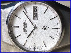 Vintage SEIKO Quartz Watch/ KING TWIN QUARTZ 9223-8000 SS 1981 Original Band
