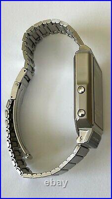 Vintage Seiko T001-5019 Seiko TV Watch Mint Condition Original Metal Bracelet RA