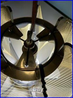 Vintage String MID-CENTURY MODERN PENDANT Light Swag LAMP Hanging MCM